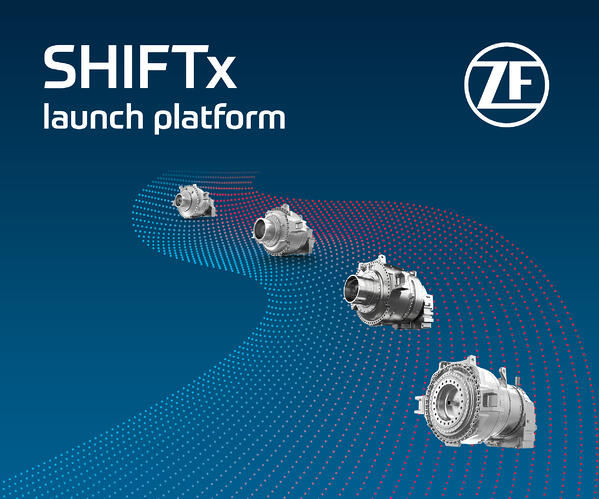 SHIFTx launch platform ZF